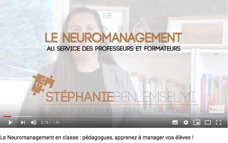 Le Neuromanagement en classe